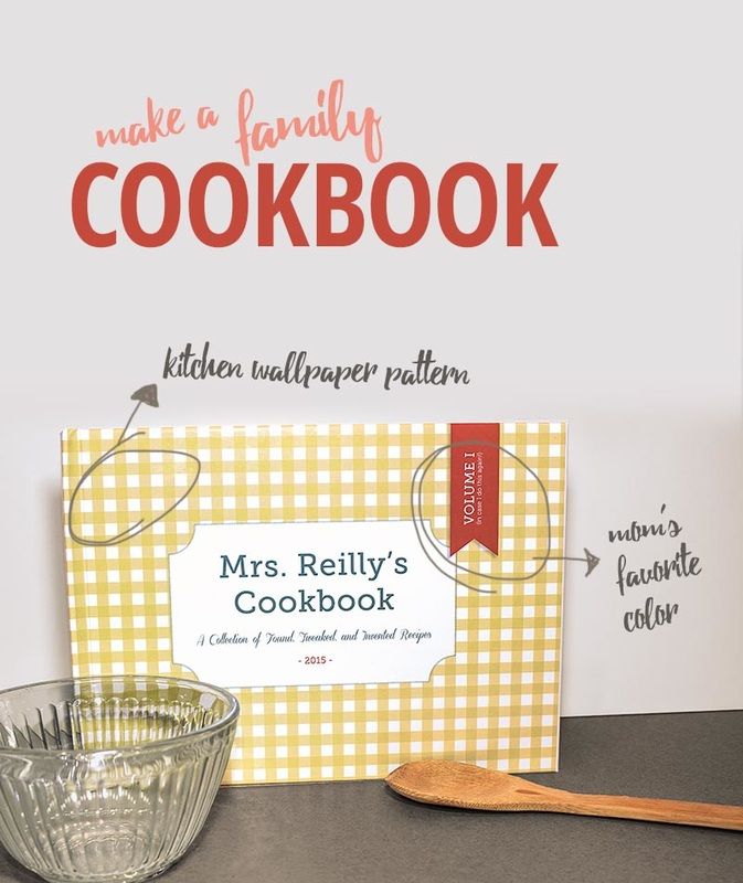 How to Make a Family Cookbook | thethumbprint.com