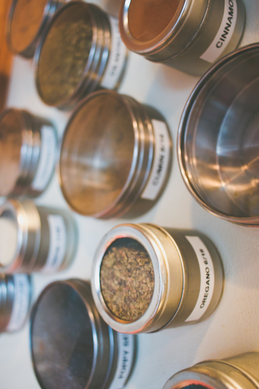 Alphabetized Seasonings