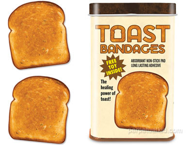Toast Bandages
